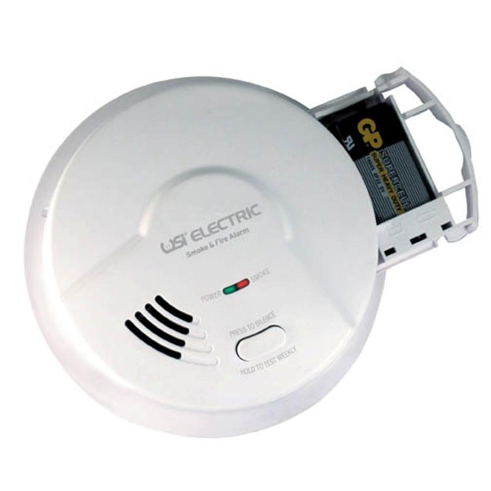 Universal Security Instruments Hardwired Interconnected Smoke and Fire Alarm with Battery Backup