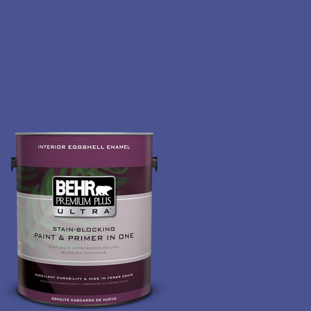 BEHR Premium Plus Ultra 1-gal. #P540-7 Canyon Iris Eggshell Enamel Interior Paint