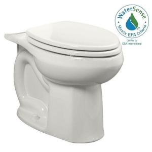 American Standard Colony Universal 1.28 or 1.6 GPF Elongated Toilet Bowl Only in White by American Standard