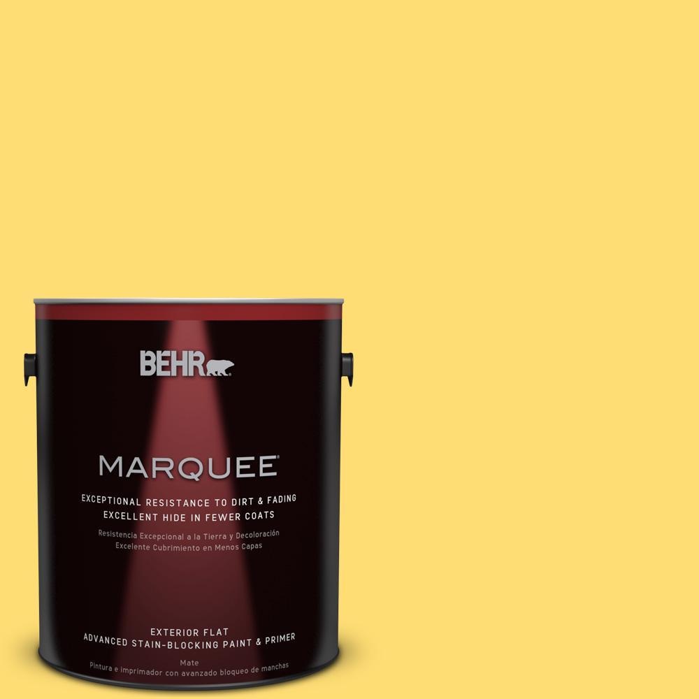 Behr Marquee 1 Gal 370b 5 Sun Shower Flat Exterior Paint