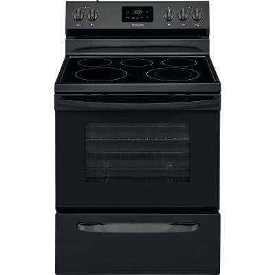 4.9 cu. ft. Electric Range in Black