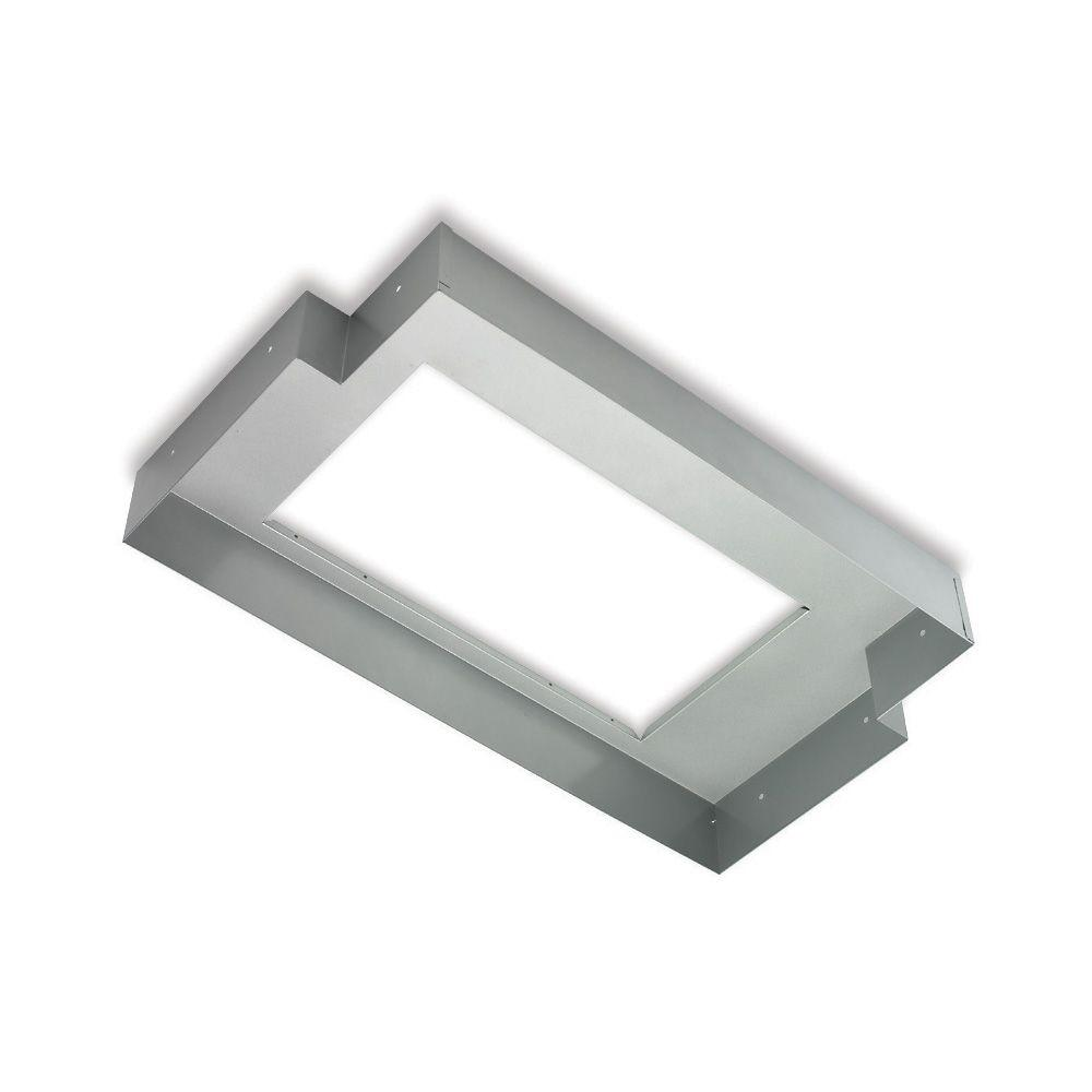 T Shaped Liner For Pack Range Hoods In Silver Paint