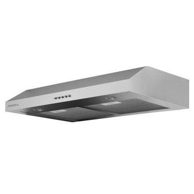 Slim Plus 30 30 in. Under-Cabinet Range Hood in Stainless Steel