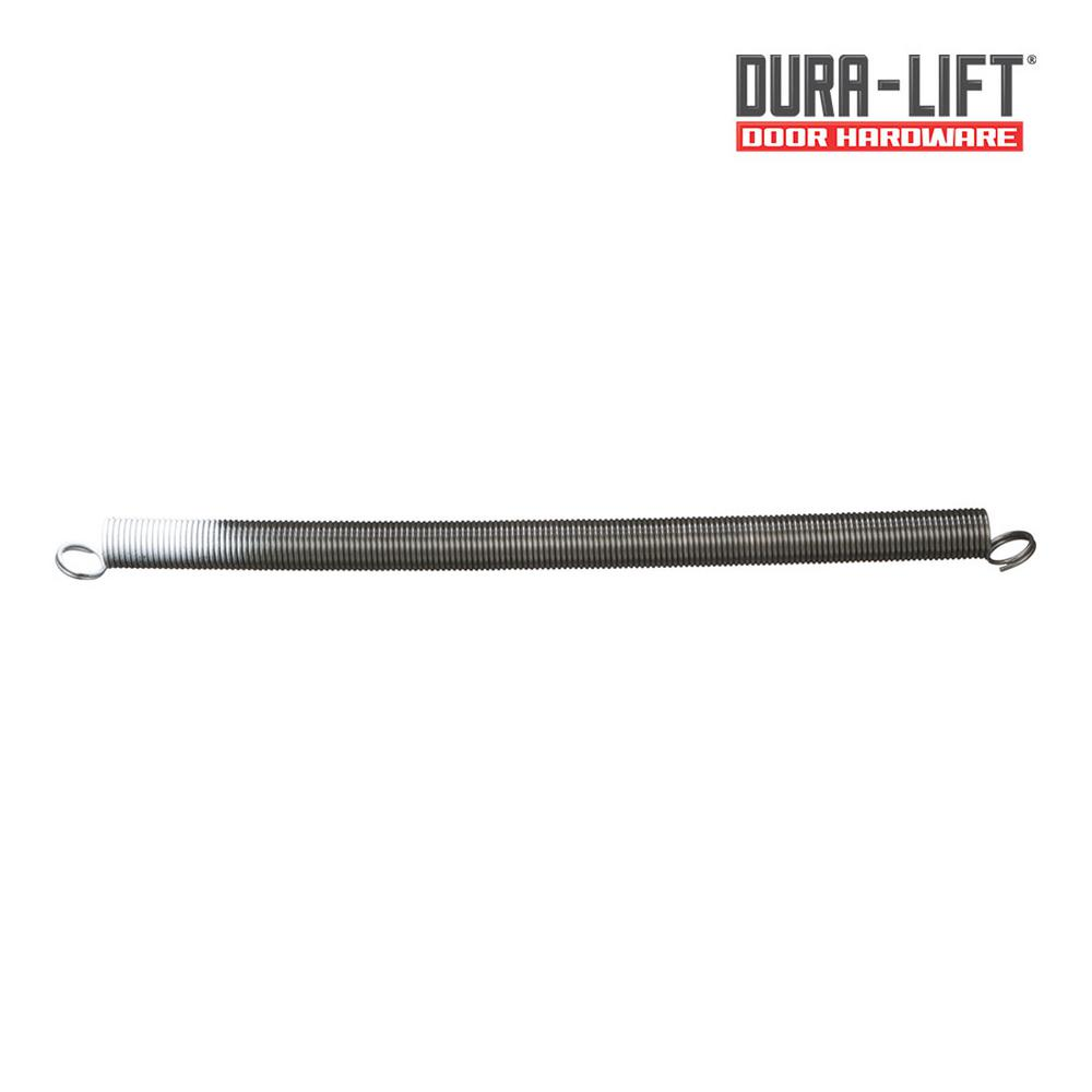 Door Weight: 50# Red Garage Door Extension Springs for 7 High Door Pair Or Single: Pair of Springs Lift Cable Options: Without Lift Cables Safety Cable Options: Without Safety Cables.