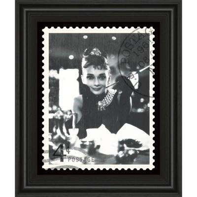 """22 in. x 26 in. """"Movie Stamp II"""" by The Vintage Collection Framed Printed Wall Art"""