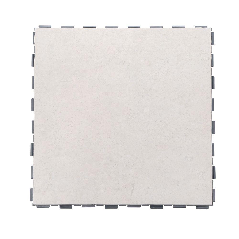SnapStone Arcadia 12 in. x 12 in. Porcelain Floor Tile (5 sq. ft. / case)
