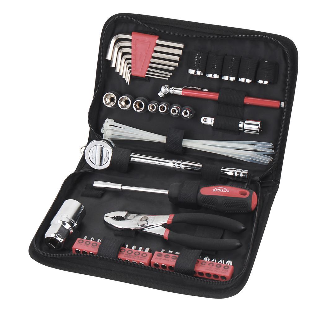 husky mechanics tool set 268 piece h268mts the home depot. Black Bedroom Furniture Sets. Home Design Ideas