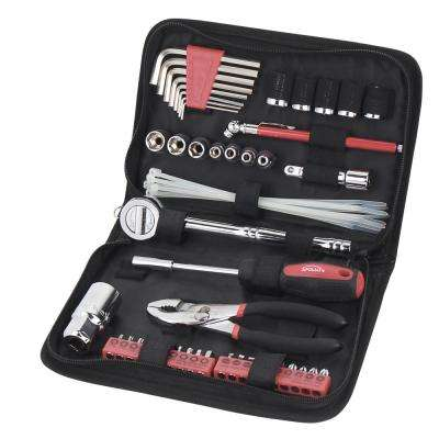 Auto Tool Set in Zipper Case - Metric (56-Piece)