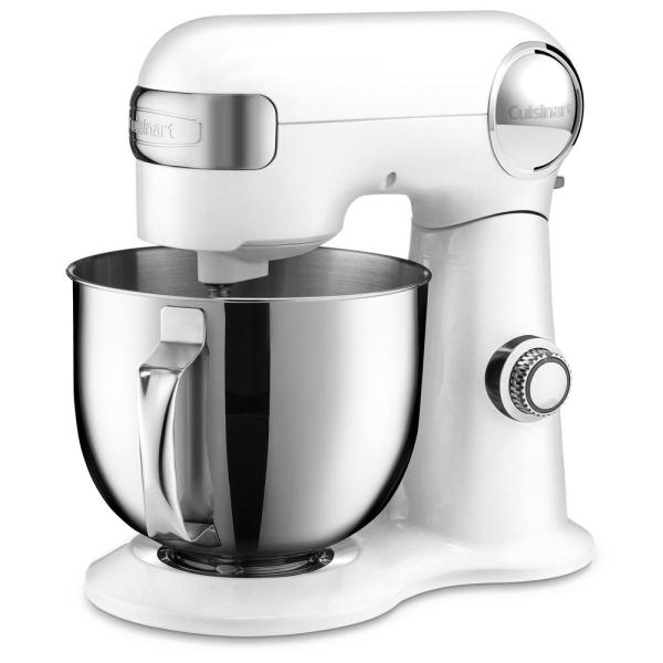 5.5 Qt. 12-Speed White Stand Mixer with Accessories