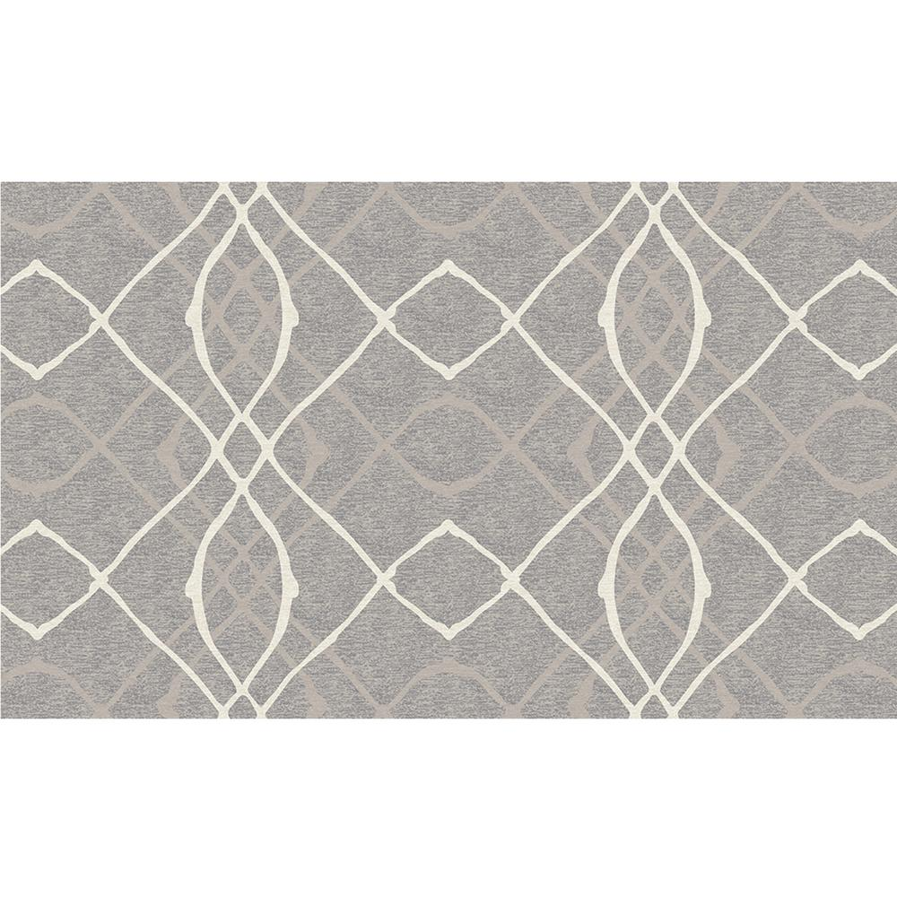 Washable Rugs Home Depot: Ruggable Washable Amara Grey 3 Ft. X 5 Ft. Area Rug-131650