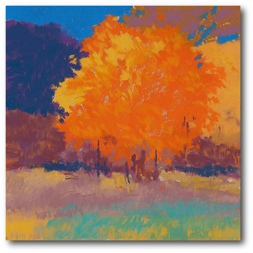 Courtside Market Orange Maple 24 in. x 24 in. Gallery-Wrapped Canvas Wall Art, Multi Color was $115.0 now $64.03 (44.0% off)