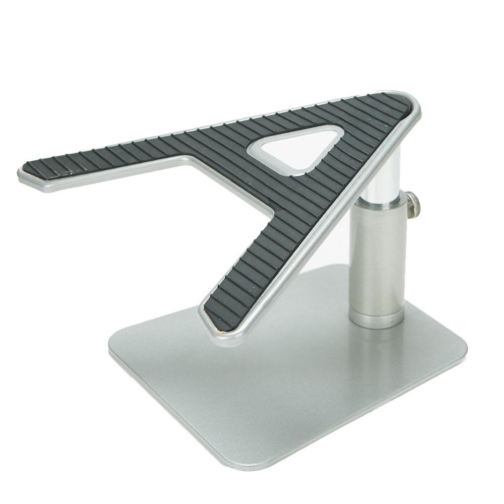 Metal Laptop Riser A-Shaped Adjustable Desk Top Stand for Laptop, Monitor, iMac, Macbook, Black