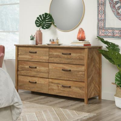 Cannery Bridge 6-Drawer Sindoori Mango Dresser