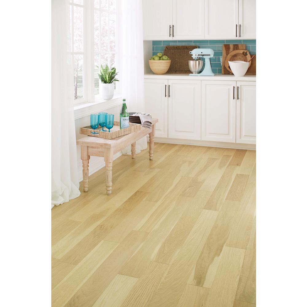 Honeytone 0.28 in. Thick x 5 in. Width x Varying Length Waterproof Engineered Hardwood Flooring (16.68 sq. ft./case)