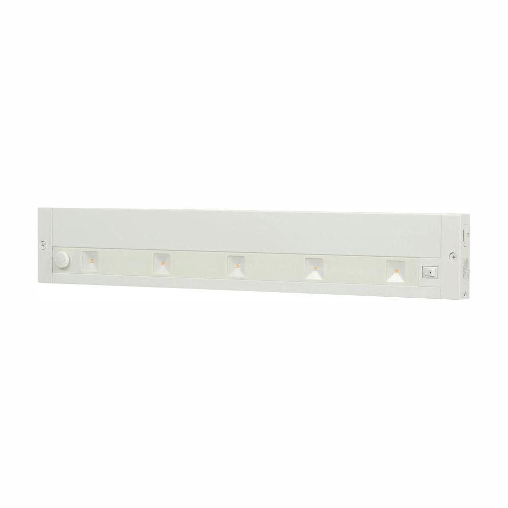 Juno 18 In White Led Dimmable Linkable Under Cabinet