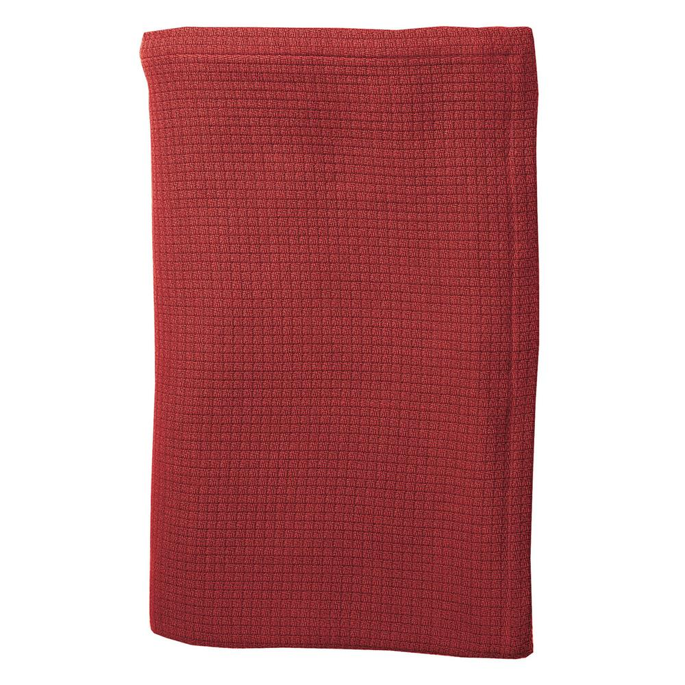 TheCompanyStore The Company Store Cotton Weave Spice Throw Blanket