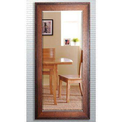 30.5 in. x 71 in. Timber Estate Beveled Oversized Full Body Mirror