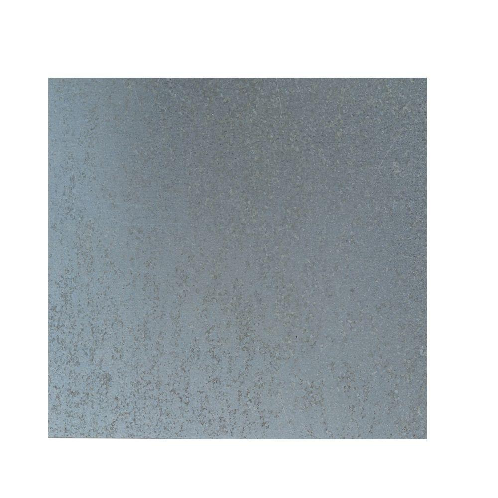 M D Building Products 12 in x 24 in 28 Gauge Galvanized Sheet