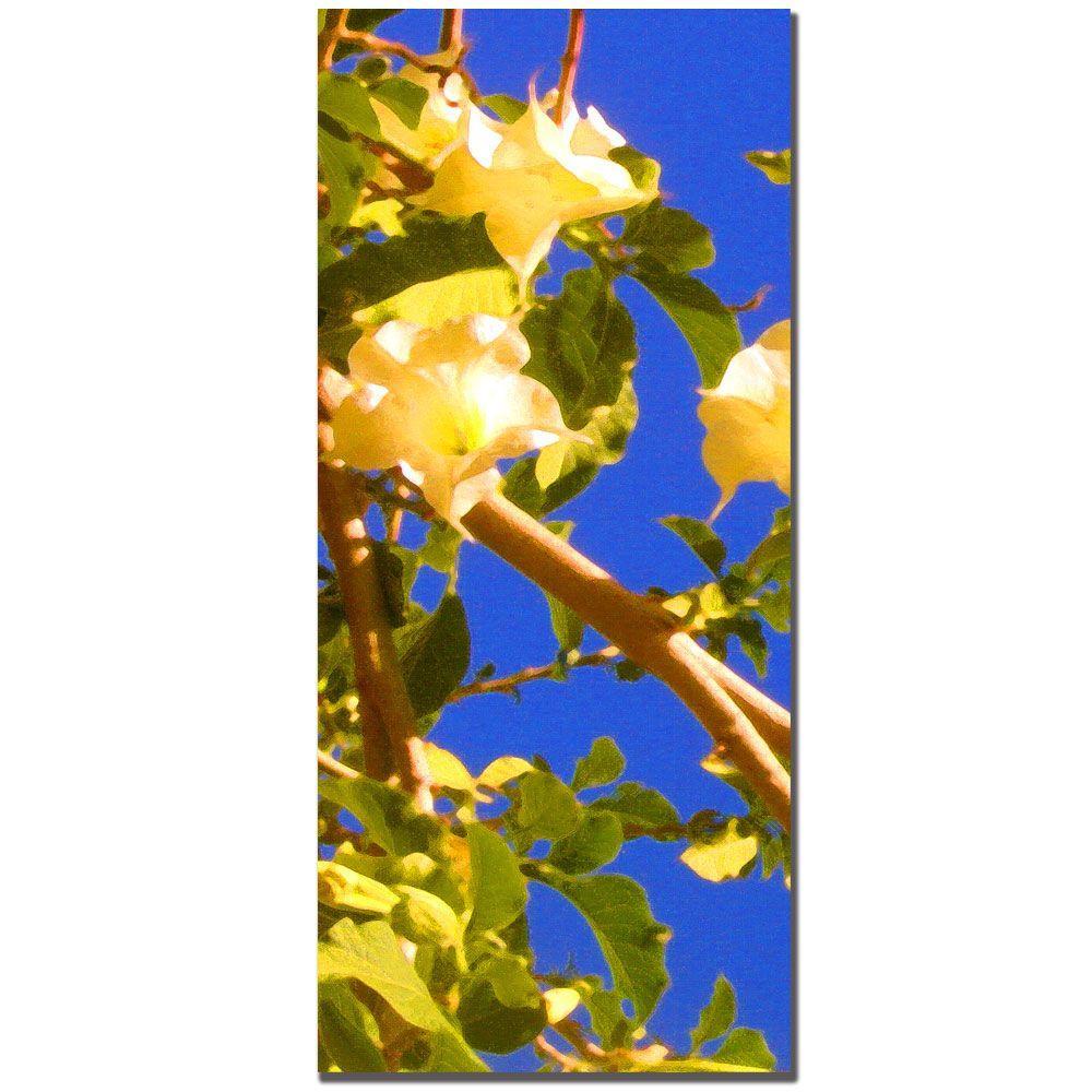 Trademark Fine Art 12 in. x 32 in. Flowering Tree I Canvas Art - Part A