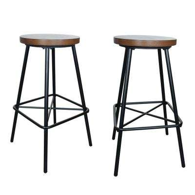 Illona 30 in. Elm Bar Stool (Set of 2)