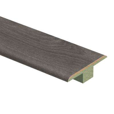 Grey Oak 7/16 in. Thick x 1-3/4 in. Wide x 72 in. Length Laminate T-Molding