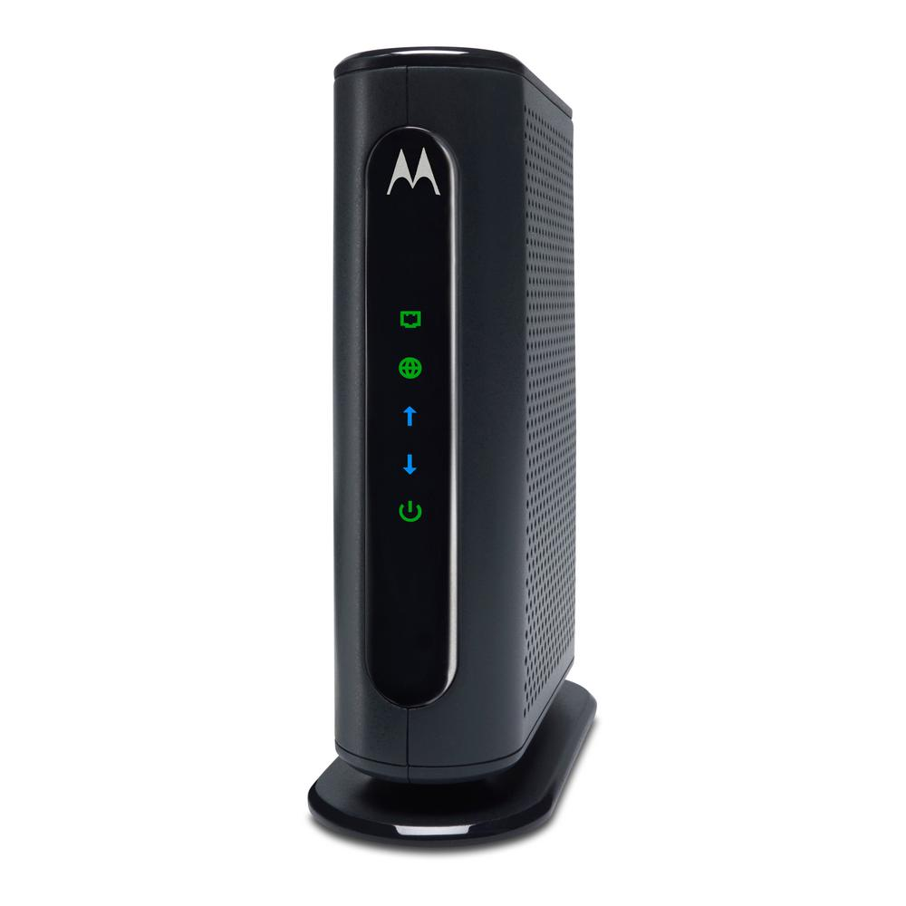 Motorola 8x4 Cable Modem with Built-In N300 Wi-Fi Router
