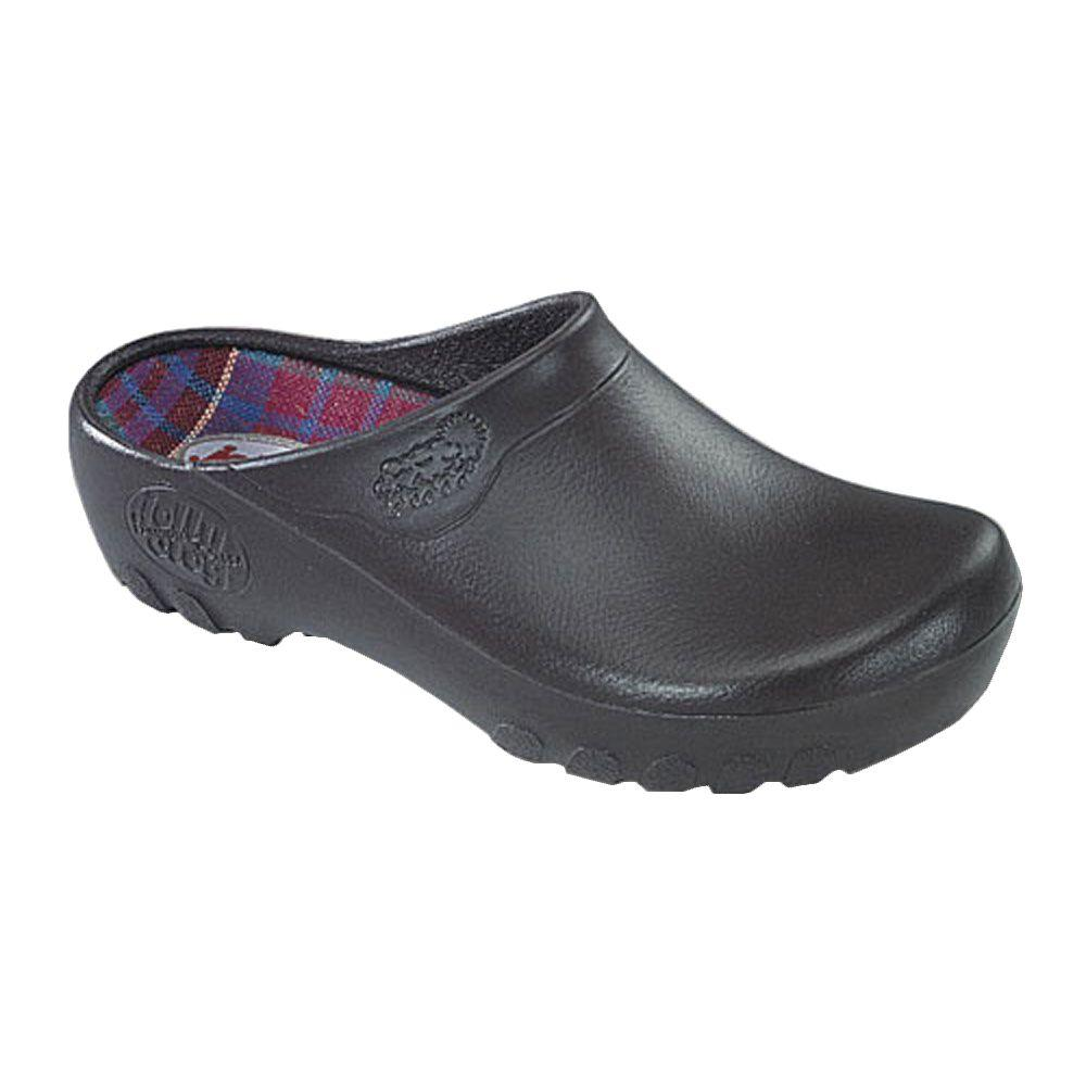 Women's Brown Garden Clogs - Size 10