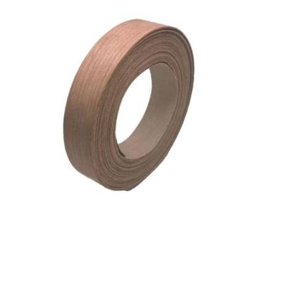 7/8 in. x 25 ft. Khaya Real Wood Edgebanding with Hot Melt Adhesive