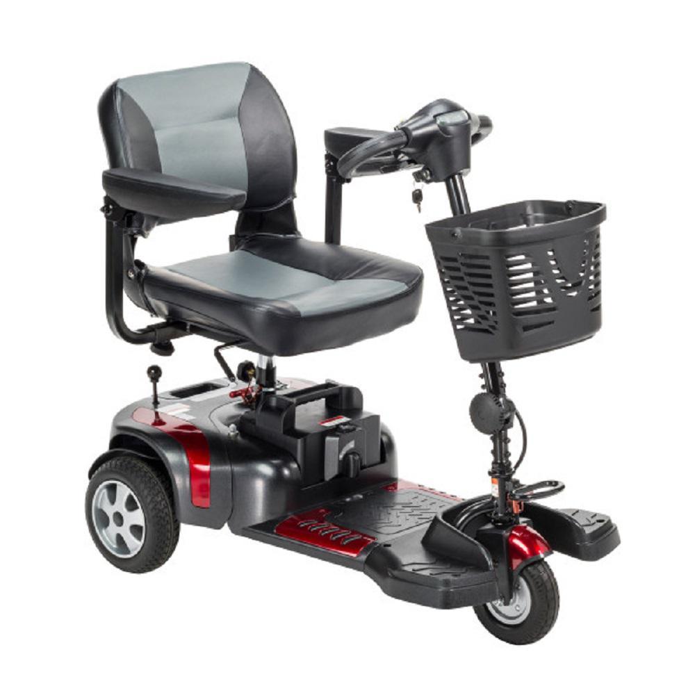 Drive Phoenix Heavy Duty 3-Wheel Power Scooter 20 in. Seat