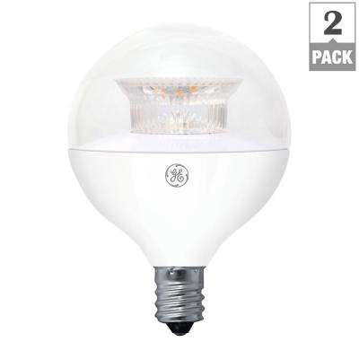 Style Of 40W Equivalent Soft White 2700K High Definition G16 5 Globe Clear Dimmable LED Unique - Elegant ge led light bulbs Contemporary