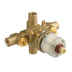 Pressure Balance Rough Cycle Valve Body with Screwdriver Stops by
