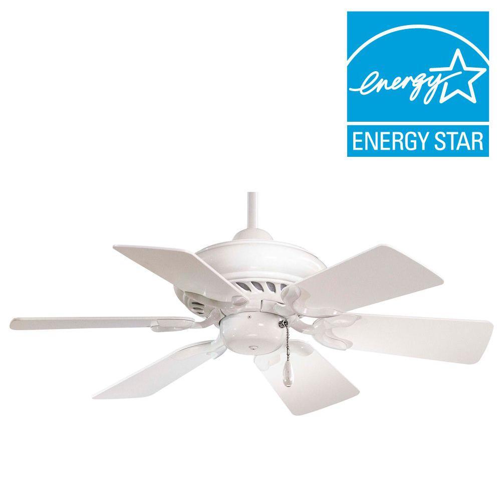 Supra 32 in. Indoor White Ceiling Fan