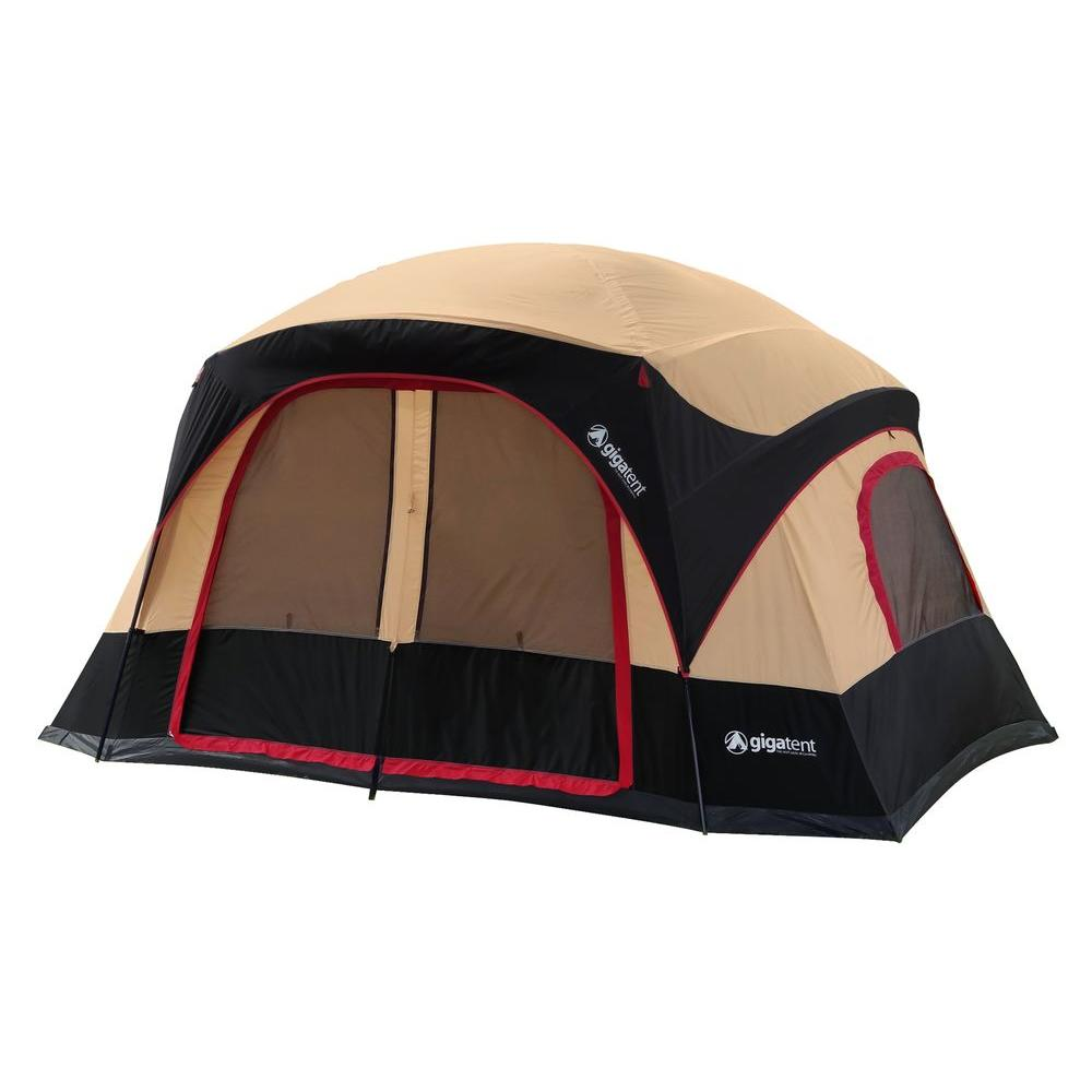 GigaTent Katahdin 6-Person Cabin Tent  sc 1 st  Home Depot & GigaTent Katahdin 6-Person Cabin Tent-FT020 - The Home Depot