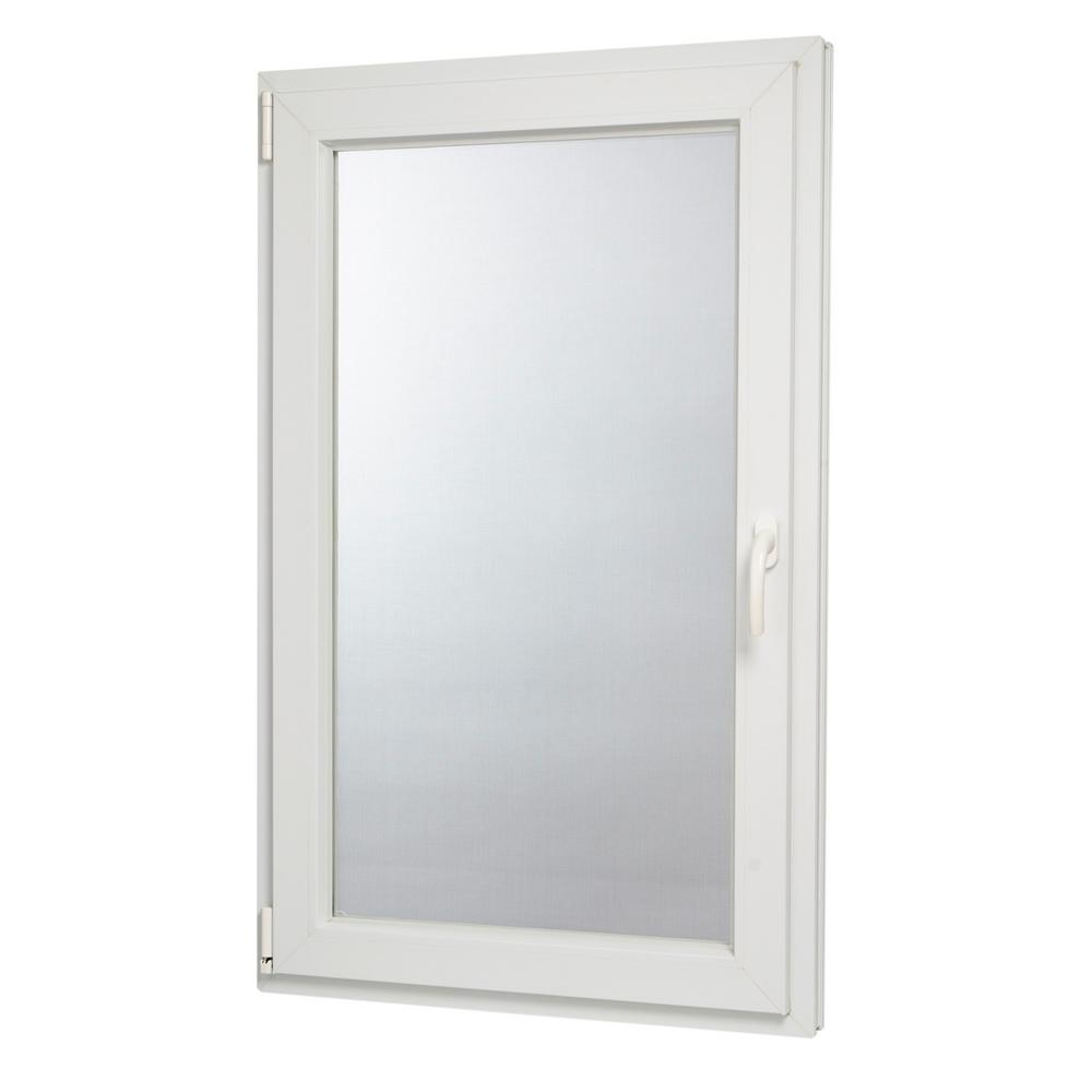 TAFCO WINDOWS 29.75 in. x 47.75 in. 88000 Series Left-Hand Inswing/ Tilt in Vinyl Window - White