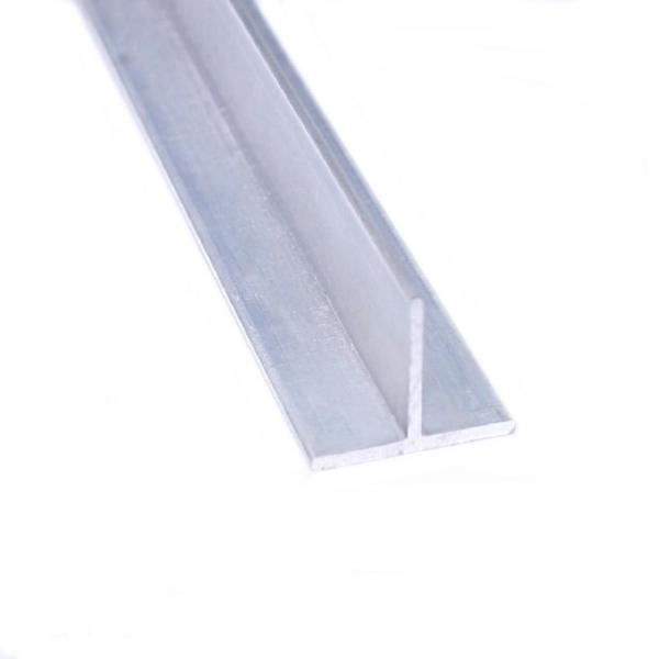 1 in. x 96 in. Mill Aluminum Tee Angle Bar