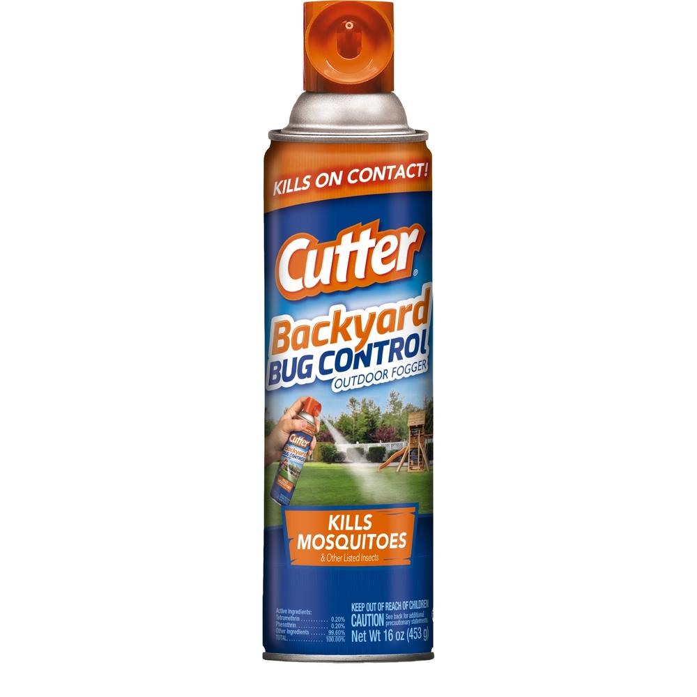 Cutter 16 Oz. Backyard Bug Control Outdoor Fogger-HG-95704