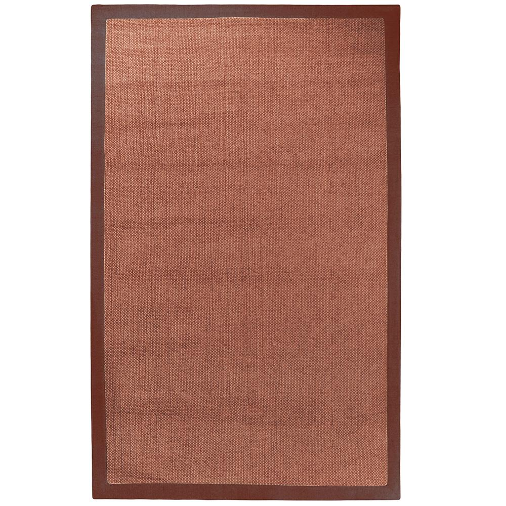 Lanart chenille sisal coral 8 ft x 10 ft area rug for Home decorators chenille rug