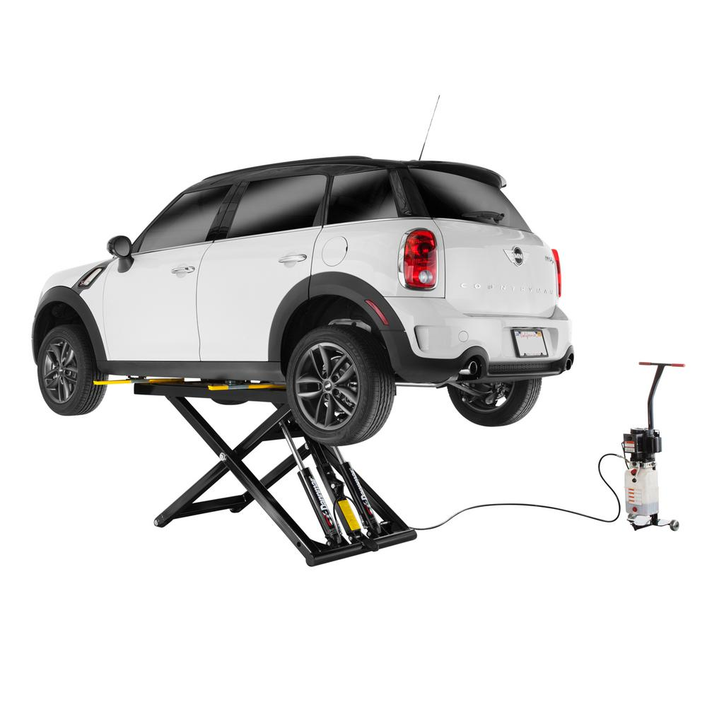 Globe Portable Auto Lift : Dannmar maxjax post portable lift dmj the home depot