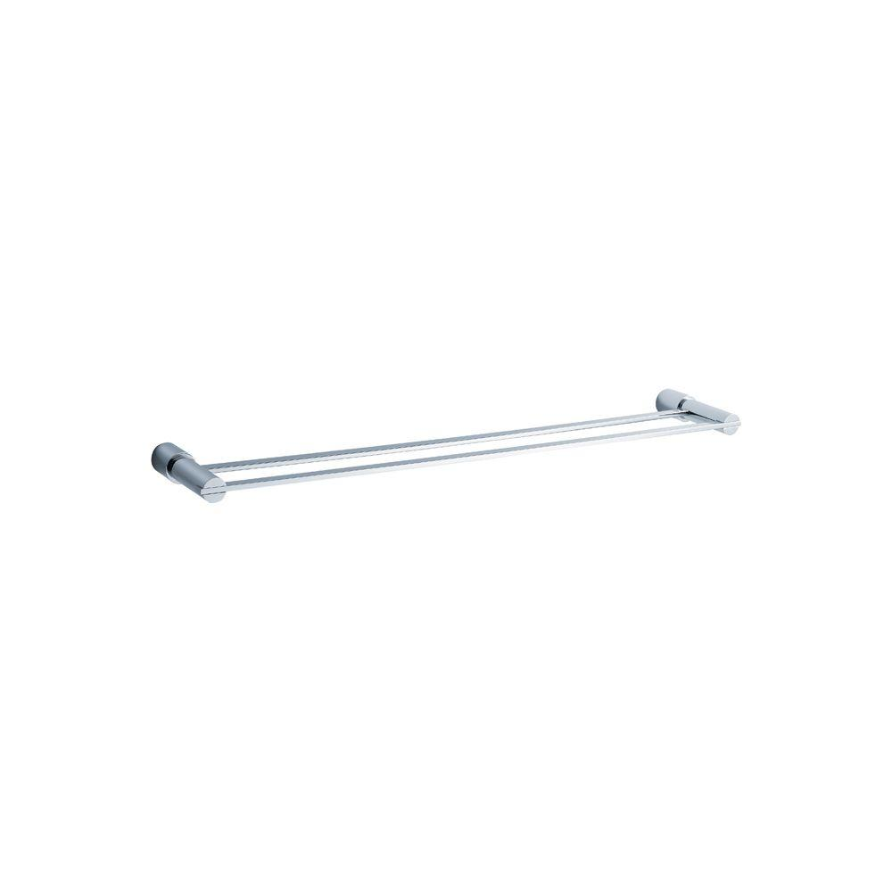 Magnifico 26 in. Double Towel Bar in Chrome