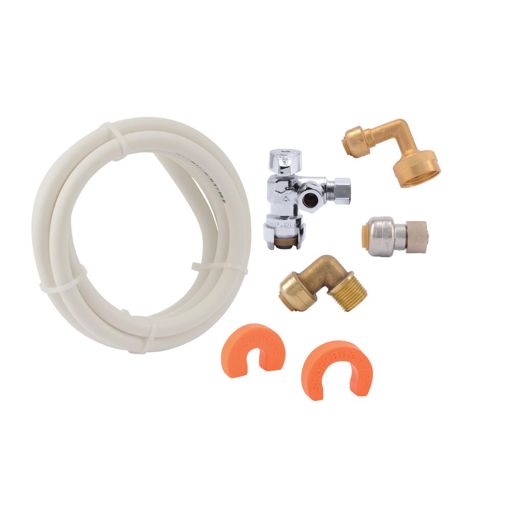 Sharkbite Push To Connect Dishwasher Installation Kit 25568 The Home Depot