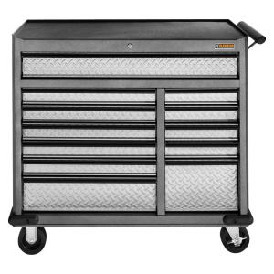 Click here to buy Gladiator Premier Series 41 inch W 12-Drawer Rolling Tool Chest by Gladiator.