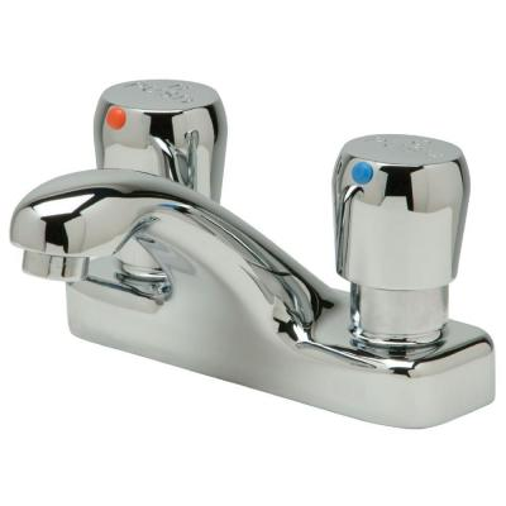 Aquasense 4 in. Centerset 2-Handle Bathroom Faucet in Chrome