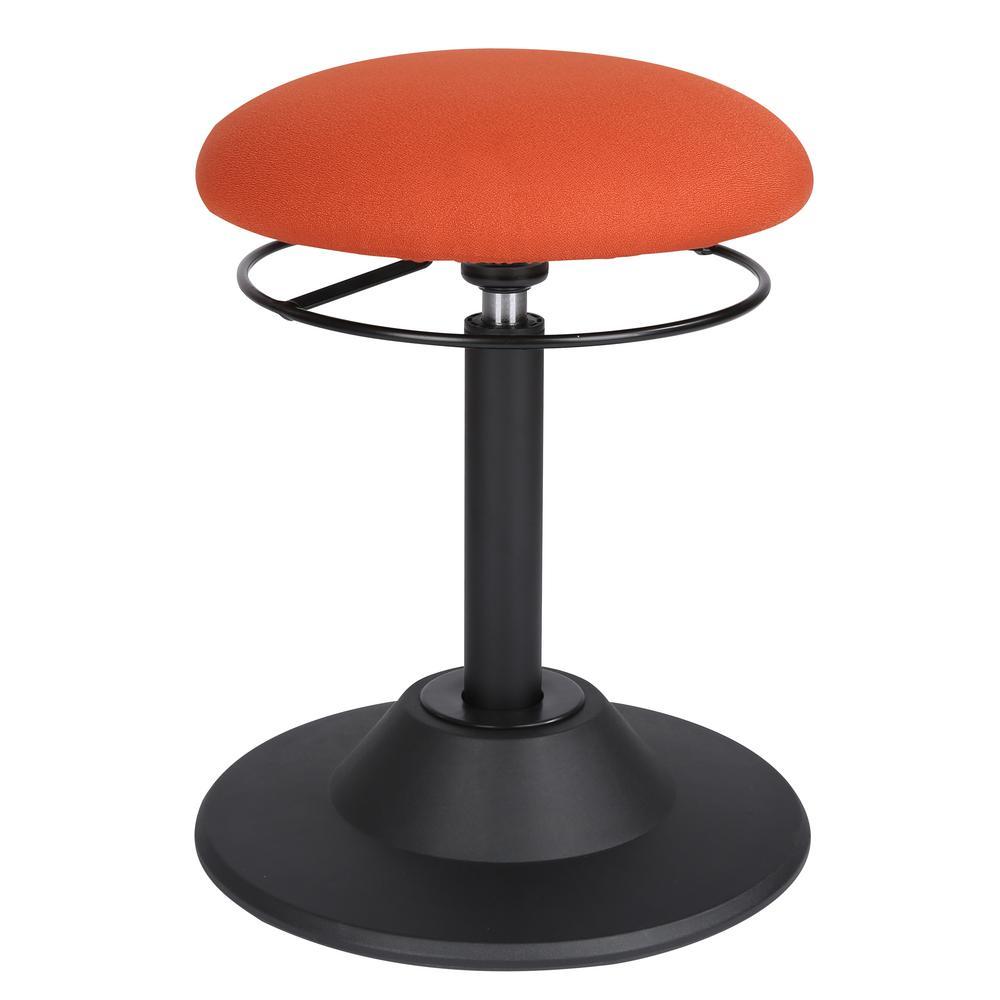 Poly And Bark Orbit Orange Wobble Chair-HD-270-ORA