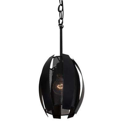 Sawyers Bar 1-Light Black Mini Pendant