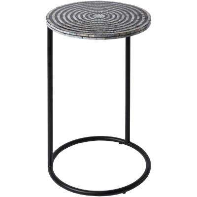 Tiack Black Accent Table