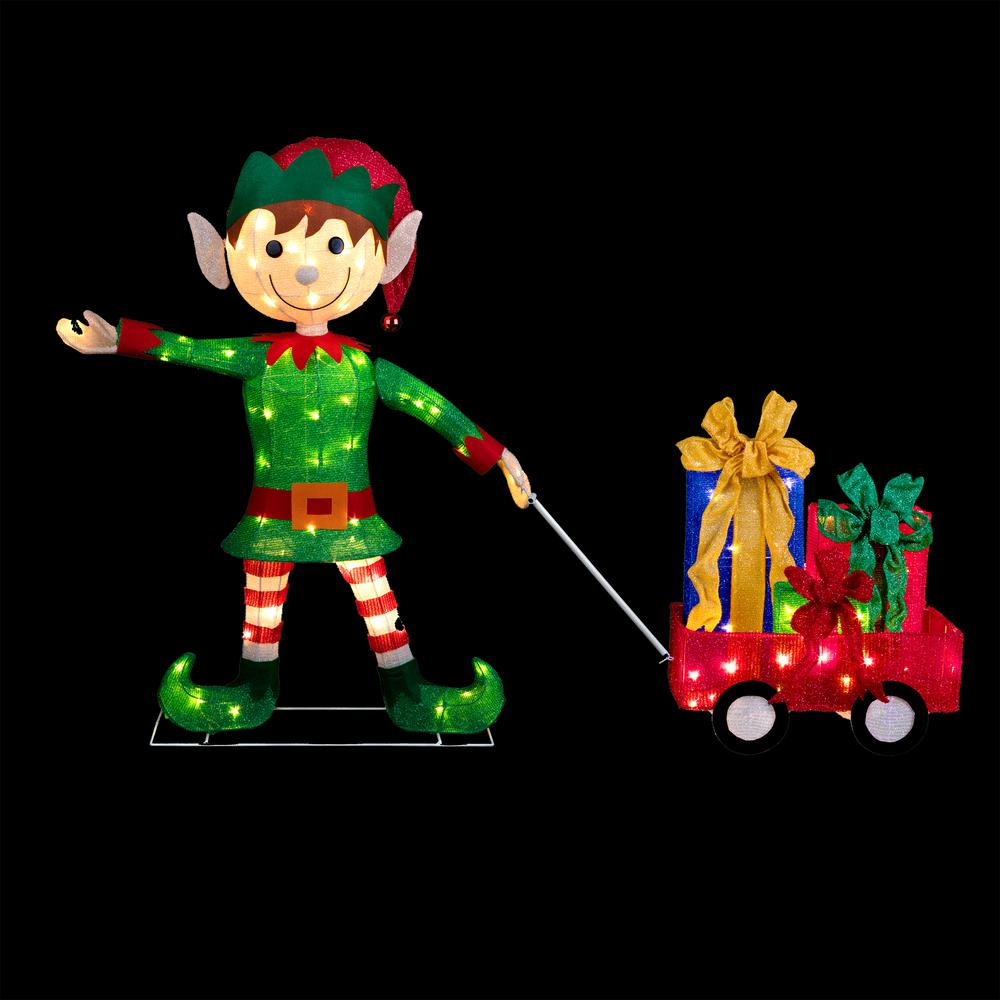 An Impressive Elf Squad Yard Sign Is Sure To Delight Your Guests And Surprise Everyone This 10 Piece Set Of Kids Christmas Birthday Party