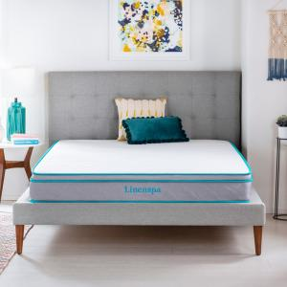 Linenspa Essentials AlwaysCool 8 Inch Firm California King Mattress