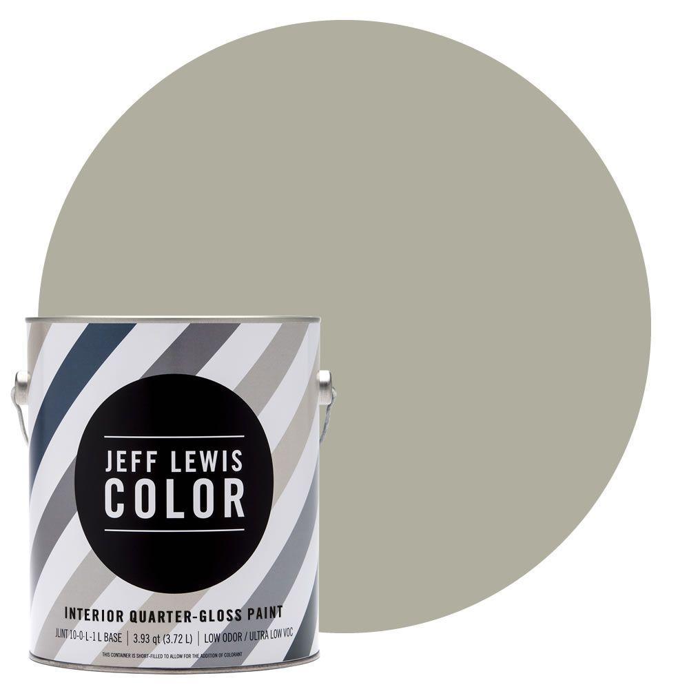 Jeff Lewis Color 1-gal. #JLC213 Dune Quarter-Gloss Ultra-Low VOC Interior Paint