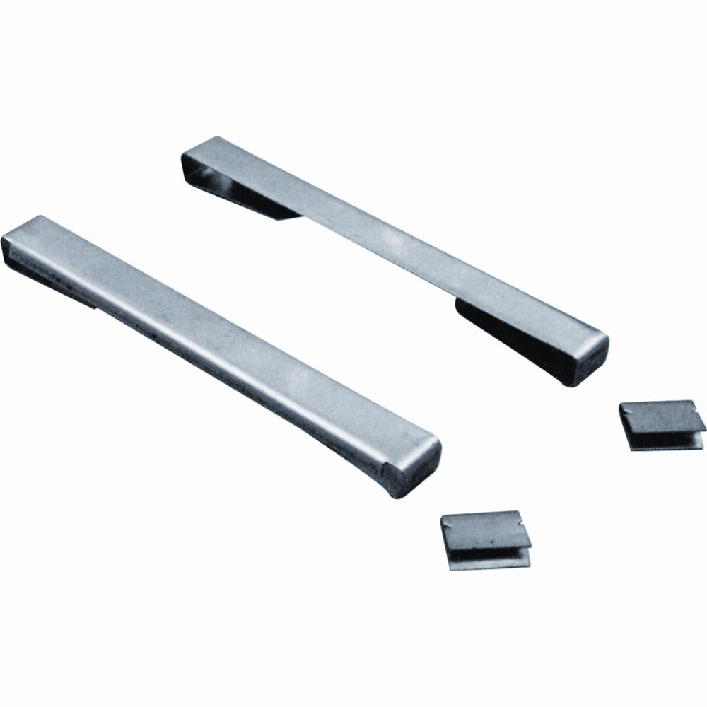 Prime Line 4 In Stainless Steel Metal Snap Lock Louver