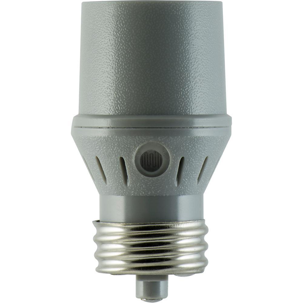 GE Indoor Automatic Light-Sensing Socket-18256 - The Home Depot
